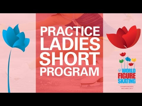 Ladies Short Program Practice: Group 2 - Helsinki