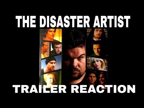 The Disaster Artist Official Trailer #1 Reaction
