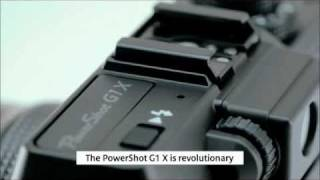 Canon G1x is officially announced with large sensor and 28-112mm lens [official video release]