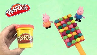 Play Doh Ice cream - Play Doh Kids Toys  Ice Cream Oysters Rainbow