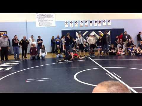 Robert Carpenter - Yale Jr. Wrestling Tournament vs Michael Hartmann (Romeo WC)