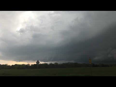 04/06/2018 Tornado-Warned Storm in Collin County, TX