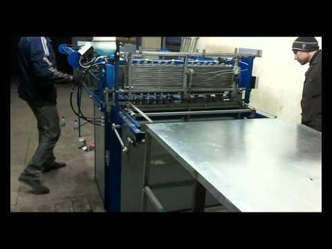 Машина для сварки арматурной сетки MTM_1000_1.avi