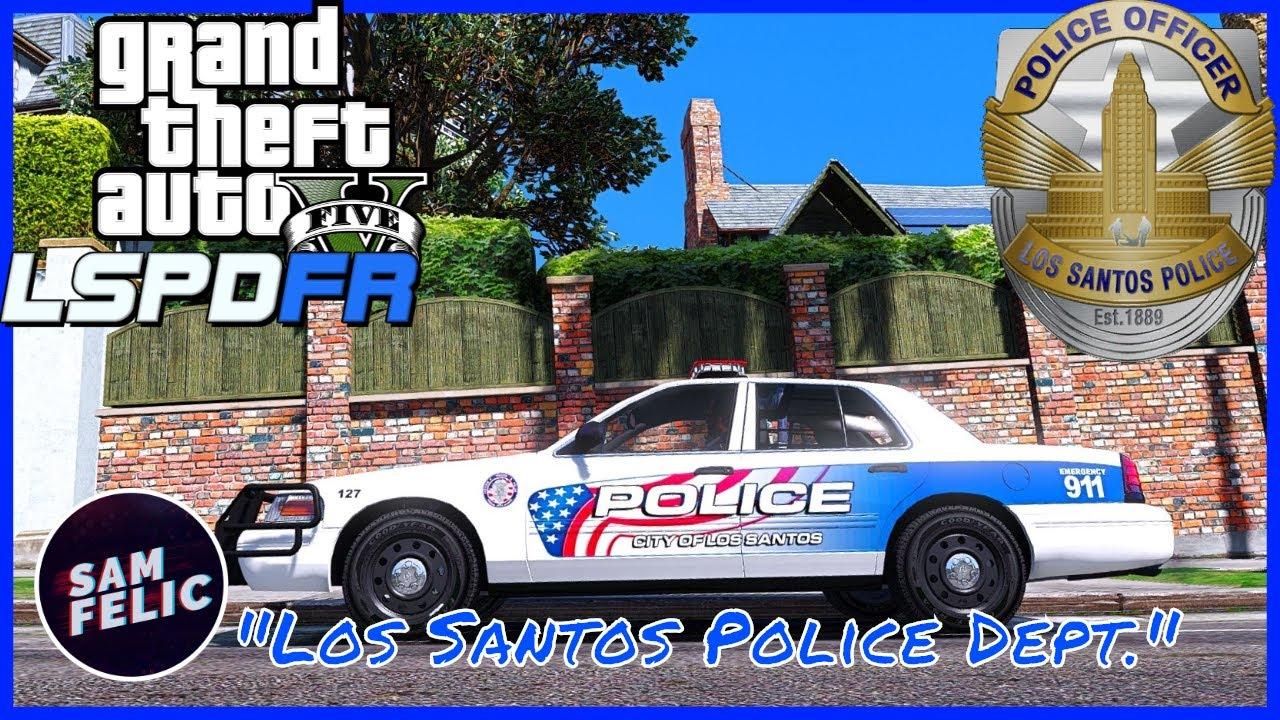 GTA 5 LSPDFR - LSPD EP41 - Los Santos Police Department