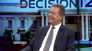 Decisión 2020: entrevista al expresidente la República, Leonel Fernández 1/2