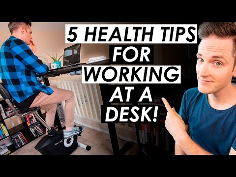 How To Stay Fit and Healthy Working at a Desk Job — 5 Office Health Tips