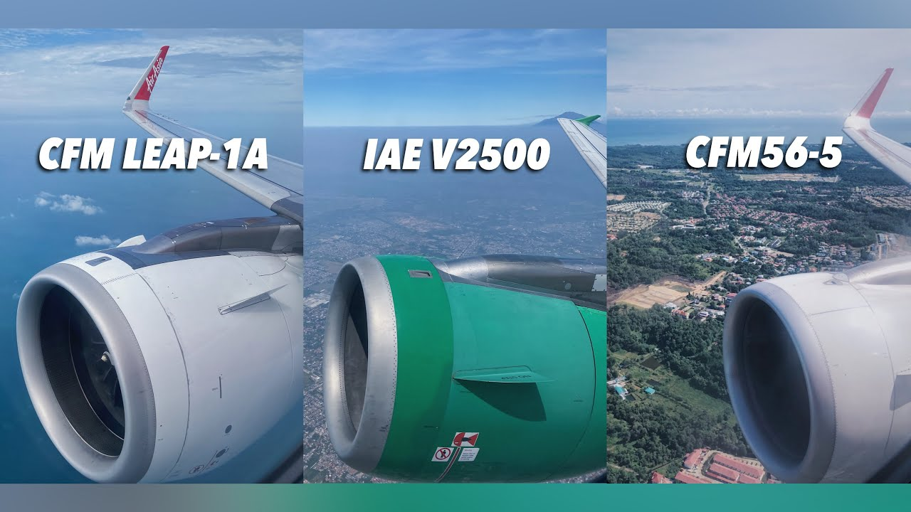 Airbus A320 family ENGINE BATTLE!
