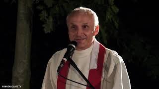 Ks. Sławomir Sosnowski na zakończenie Mszy z okazji 25-lecia Ogniska Miłości