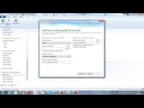 Resolvendo Erro do servidor: 3219 Windows Live Mail