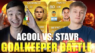 GOALKEEPER BATTLE! - ACOOL VS. STAVR - ЭПИЧНАЯ БИТВА - FIFA 15