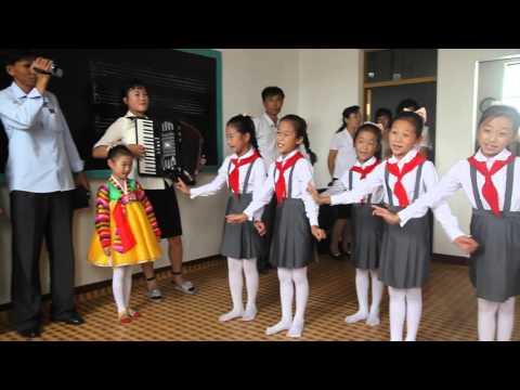 Boy Wonder Singing and Drumming in North Korea