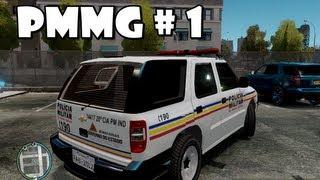 GTA IV - PMMG em patrulhamento : Perseguição, abordagens e troca de tiros