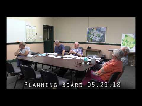 Planning Board 05.29.18