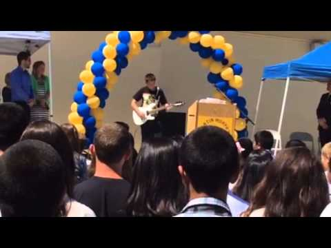 Martin Murphy Middle School graduation ceremony