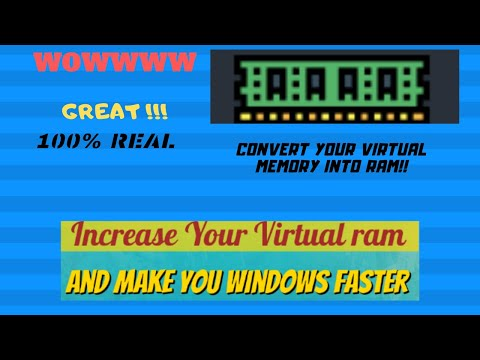 How To Increase Your RAM For Free On Your Laptop Or PC !! 2020
