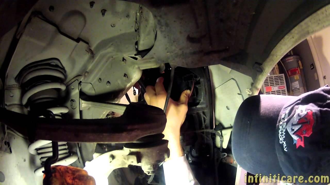 Diy G35 Headlight Bulb Replacement Youtube