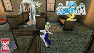 Прохождение игры против маленького Мороженщика   Ce Scream 2