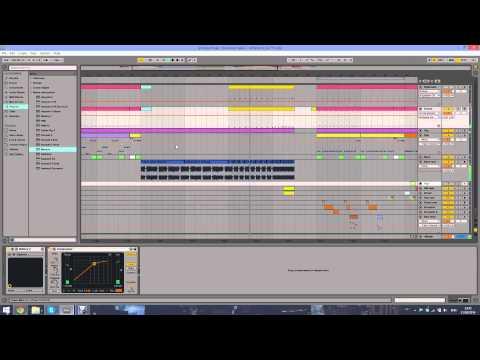 Avicii - Levels (Skrillex remix) remake in Ableton Live