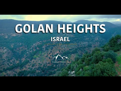 Golan Heights In 4K | North Israel Landscape | Nimrod Fortress