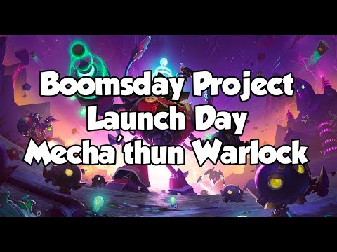 Hearthstone: The Boomsday Project Day 1 - Mecha'thun Warlock