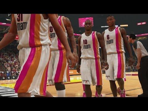 NBA 2K14 PS4 My Team - Shaq Self Oop! - 동영상