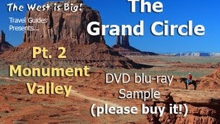 "Monument Valley Guide -free DVD preview of 100 min ""Grand Circle"""
