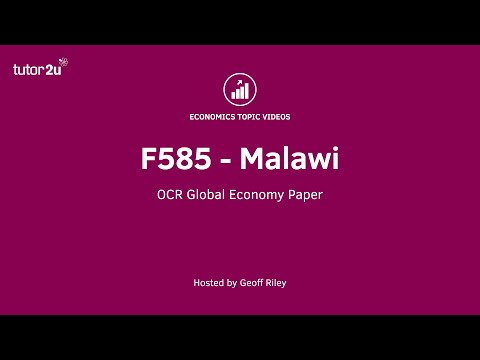 OCR F585 Short - Extract 1 (Malawi)