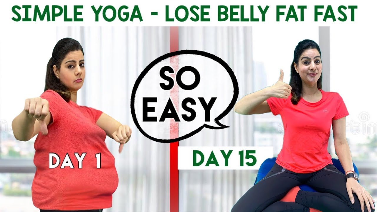 5 Easy Weight Loss Yoga Poses For Flat Stomach For Beginners |  Best Yoga Asanas To Reduce Belly fat