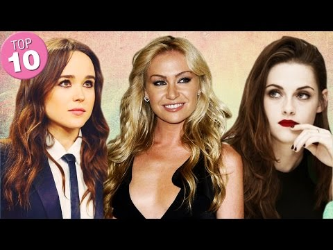 Top 10 Hottest/ Prettiest Lesbian Celebrities from YouTube · Duration:  11 minutes 31 seconds