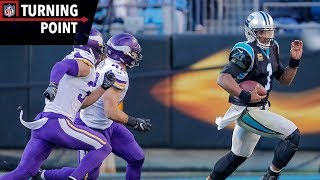 Cam Newton Puts the Team on His Back During Upset of Vikings (Week 14)   NFL Turning Point