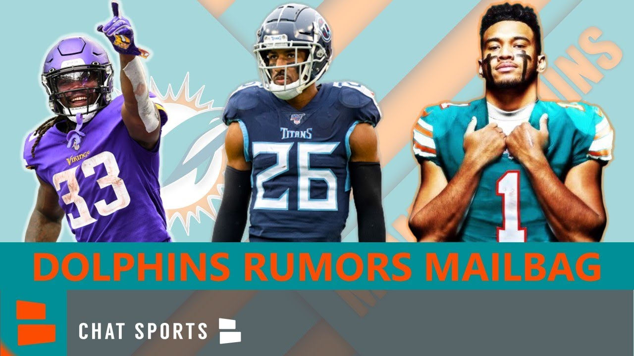 Dolphins Rumors Mailbag On Tua, Training Camp, Jordan Howard Trade For Dalvin Cook? Sign Logan Ryan?