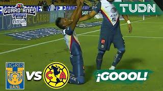 ¿Gol? GOLAZO de Aquino   Tigres 0-2 América   Torneo Guard1anes 2021 BBVA MX J14   TUDN