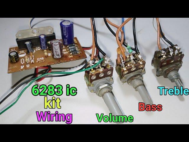 6283ic kit ???  Volume, Bass & Treble ?? Wiring ???? ???? ?