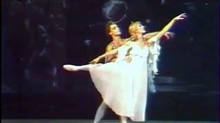 """Romantic ballet duet - ballet """"Luceafarul"""".  Live 1983"""