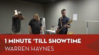 Backstage bij Warren Haynes