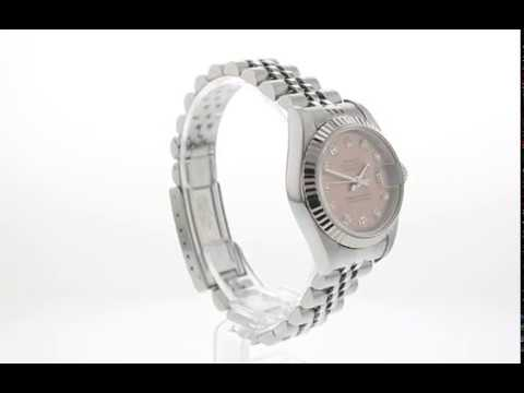 Pre Owned Watch Rolex Lady DateJust Ref 79174
