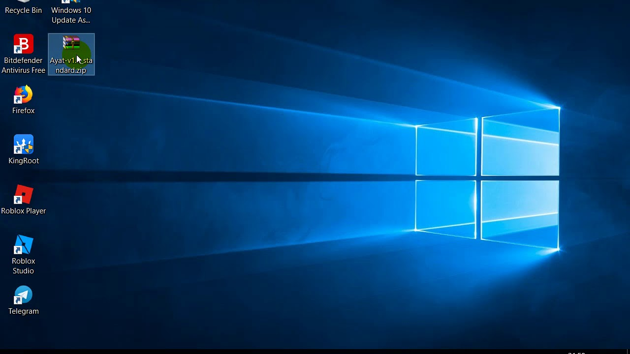 How to install ayat aplication on windows 10
