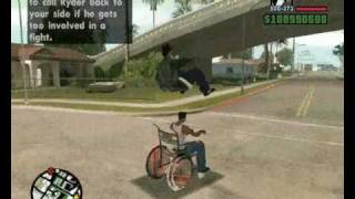 Gta sa Stunts and funny stuffs