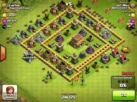 CLASH OF CLANS | HOGGRIDERS | 300,000 + GOLD | THL7/THL8/THL9