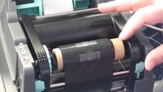 видео Термотрансферный принтер этикеток Godex EZ-1105