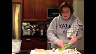 Cooking With Mary: Chicken, Shiitake And Spaghetti Squash Dinner