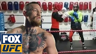 Conor McGregor posts boxing video on Instagram | @TheBuzzer | UFC ON FOX(SUBSCRIBE for more from UFC ON FOX: https://www.youtube.com/ufconfox?sub_confirmation=1 Is UFC lightweight champion Conor McGregor getting closer to ..., 2017-02-09T00:07:33.000Z)