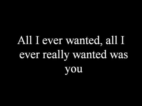 All I Ever Wanted Lyrics By Chuck Wicks