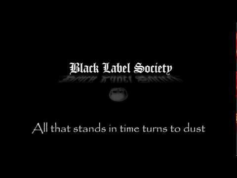 BLACK LABEL SOCIETY / RUST (LYRICS)