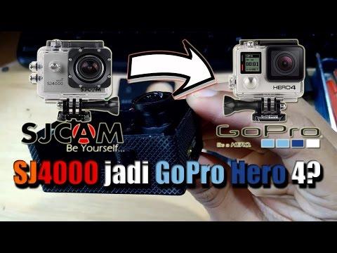 Mengganti Lensa Sj4000 dengan Lensa GoPro Hero 4