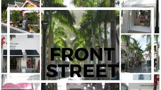 Philipsburg St. Maarten walking down front street for your st maarten shopping