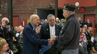 WWII veteran, 90, steps down from NY state legislature