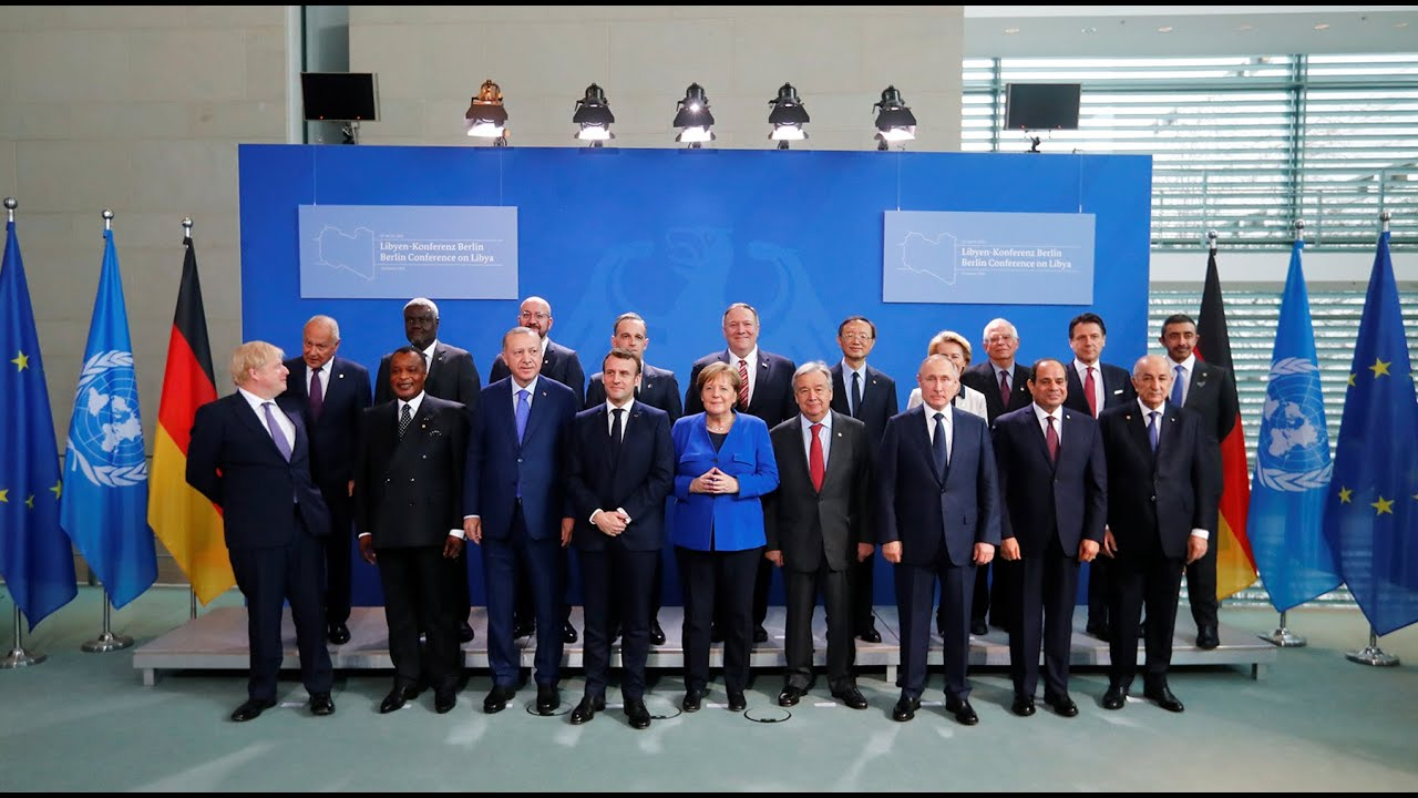 Участники берлинской конференции «потеряли» Путина