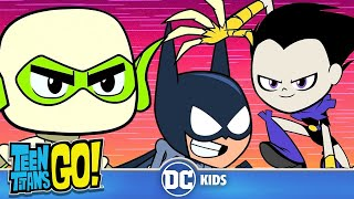Top 10 Awesome Moments | Teen Titans Go! | DC Kids