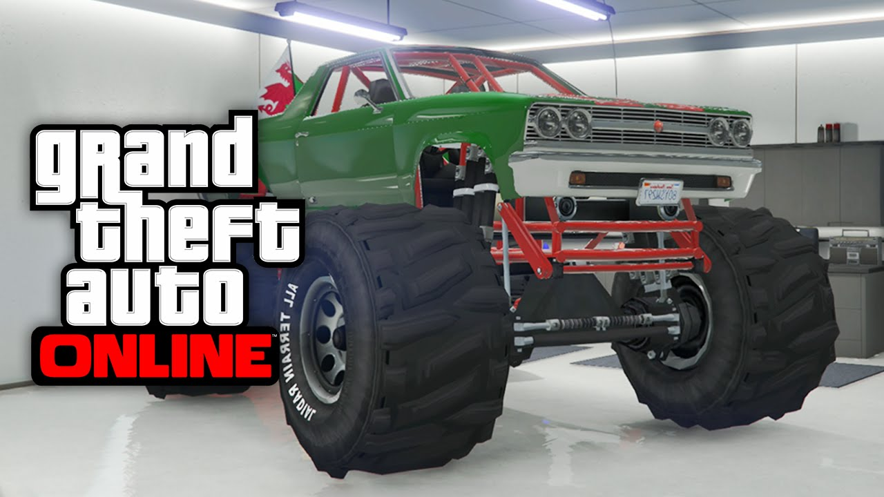 Gta 5 Online How To Store The Marshall Monster Truck In